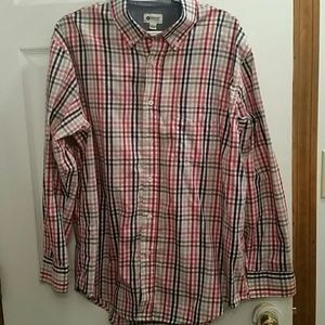 Haggar Men's Button Down Shirt